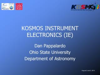 KOSMOS INSTRUMENT ELECTRONICS (IE)