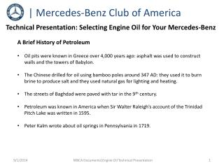 | Mercedes-Benz Club of America