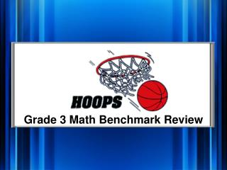 Grade 3 Math Benchmark Review