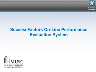 SuccessFactors On-Line Performance Evaluation System