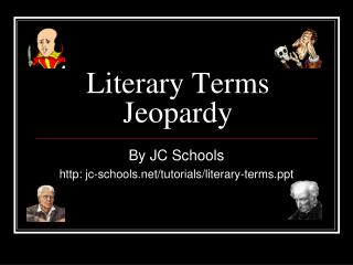 Literary Terms Jeopardy
