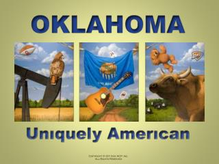 How did law, order, and growth develop in Oklahoma?