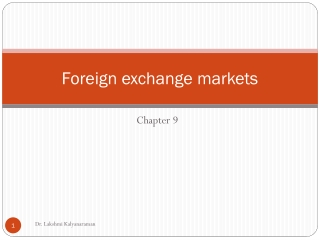 Chapter 10  Does Foreign exchange exposure matter