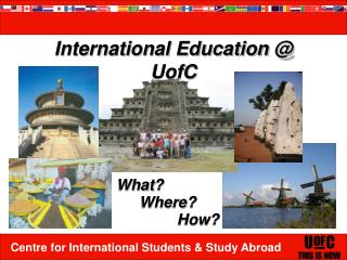 International Education @ UofC