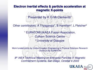 Electron inertial effects & particle acceleration at magnetic X-points