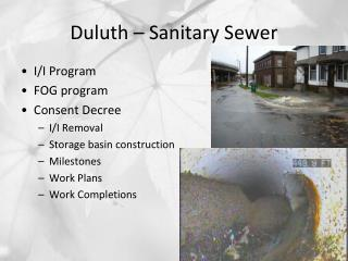 Duluth – Sanitary Sewer