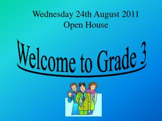 Welcome to Grade 3