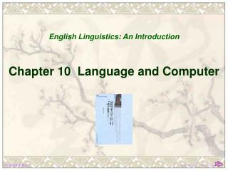 Chapter 10  Language and Computer