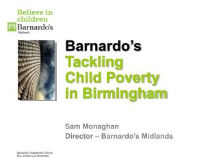 Barnardo's Tackling Child Poverty in Birmingham