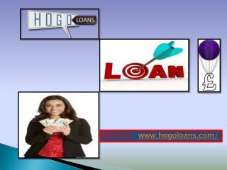 Get a loan at low interest rate in uk via hogo loans