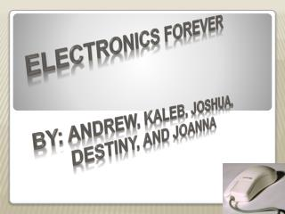 Electronics Forever