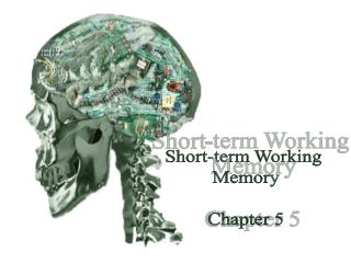 Short-term Working  Memory Chapter 5