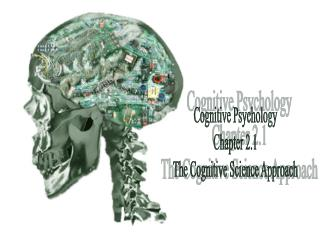 Cognitive Psychology Chapter 2.1 The Cognitive Science Approach