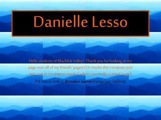 Danielle Lesso