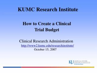 KUMC Research Institute