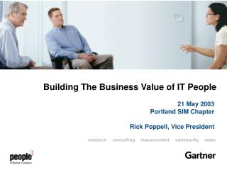 Building The Business Value of IT People