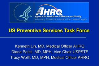 US Preventive Services Task Force