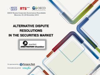 alternative dispute resolutions in the securities market