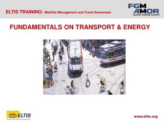 FUNDAMENTALS ON TRANSPORT & ENERGY