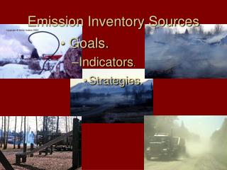 Emission Inventory Sources