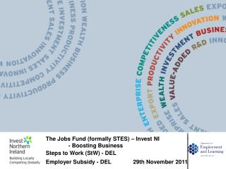 The Jobs Fund (formally STES) – Invest  NI 	- Boosting Business