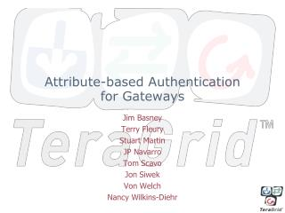 Attribute-based Authentication for Gateways