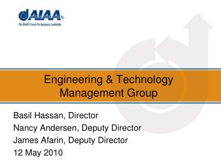 Engineering & Technology Management Group