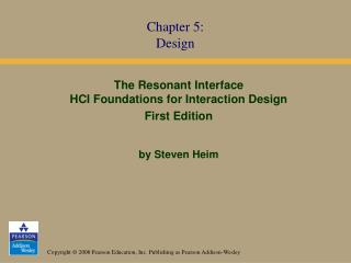 Chapter 5: Design
