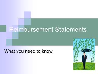 Reimbursement Statements