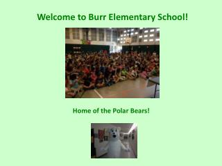 Welcome to Burr Elementary School!