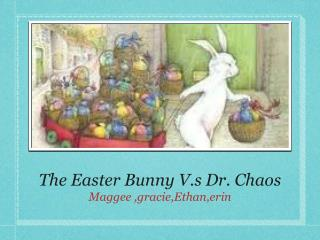The Easter Bunny V.s Dr. Chaos