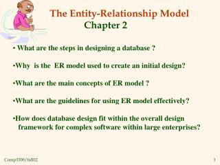 The Entity-Relationship Model                  Chapter 2