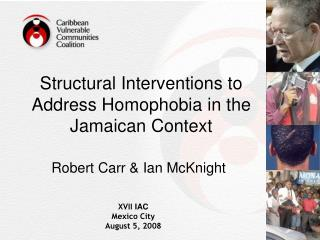 Structural Interventions to Address Homophobia in the Jamaican Context