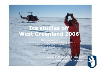 Ice studies off  West Greenland 2006