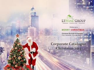 Corporate Catalogue Christmas 2013