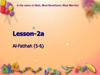 Lesson-2a