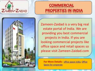 Commercial Properties in India