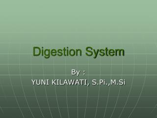 Digestion System