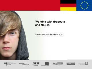 Working with dropouts and NEETs Stockholm 25 September 2013