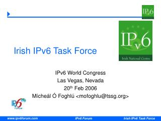 Irish IPv6 Task Force