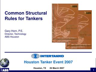 Houston Tanker Event 2007   Houston, TX      26 March 2007