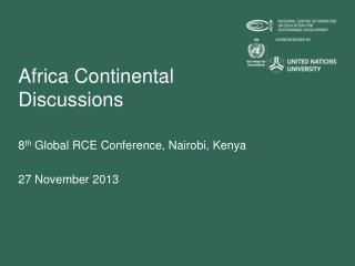 Africa Continental Discussions