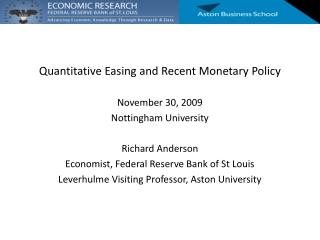 Monetary Policy Impacts on New Zealand