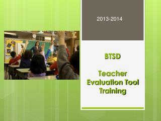 BTSD Teacher Evaluation Tool Training