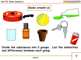 Unit 5C: Gases around us