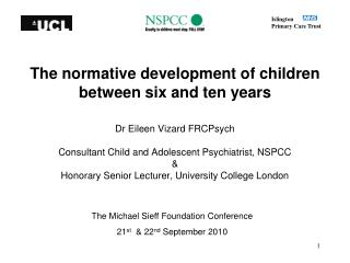 The normative development of children between six and ten years