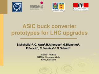 ASIC buck converter prototypes for LHC upgrades