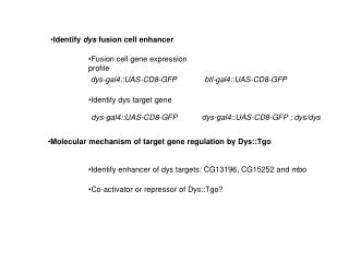 Fusion cell gene expression profile