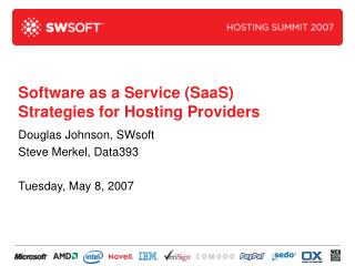 Software as a Service SaaS Strategies for Hosting Providers