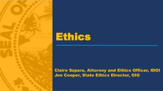 Ethics for Government Contractors